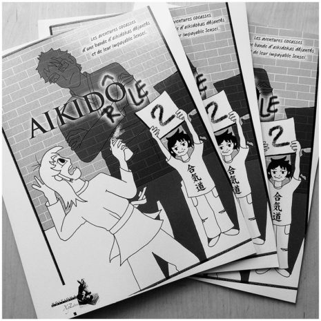 manga humoristique sur l'aikido