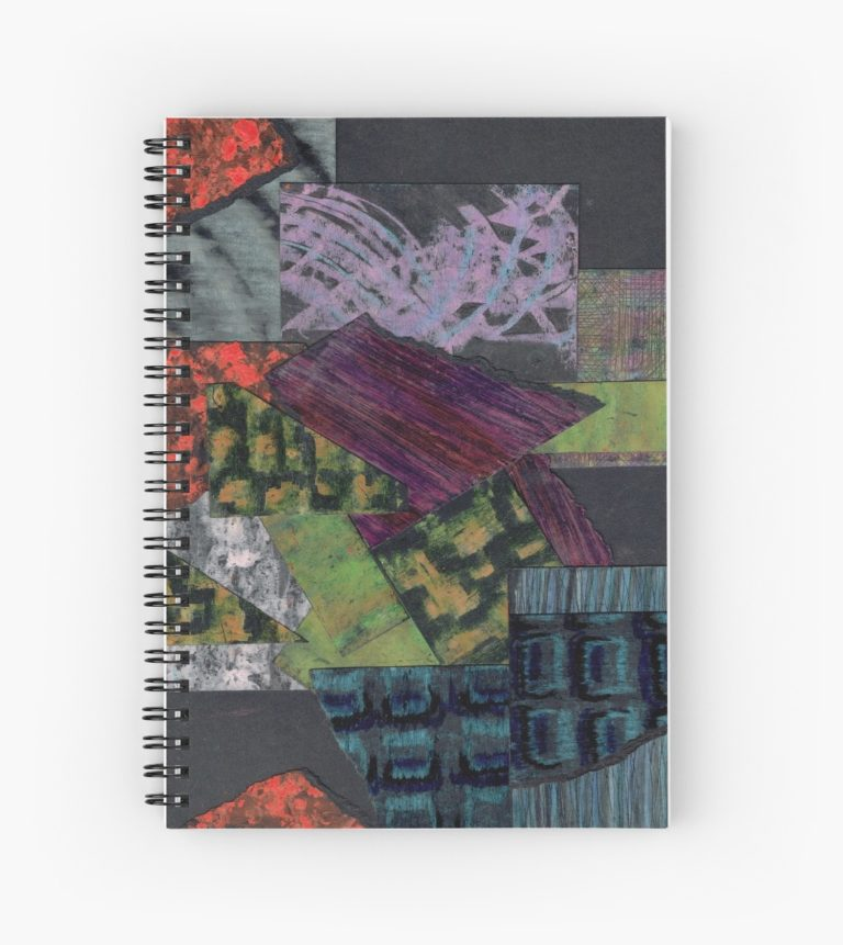 textures et matieres carnet