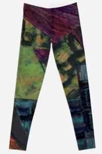 textures et matieres leggings