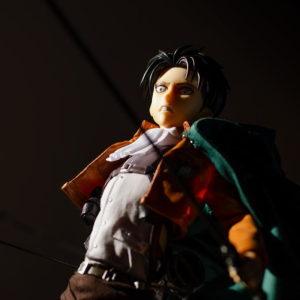 figurine articulée manga anime levi snk