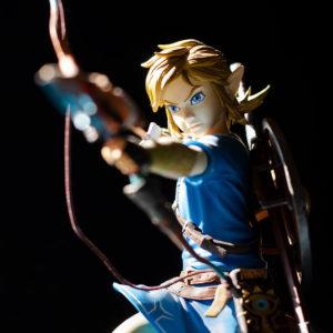 figurine jeux vidéos link zelda