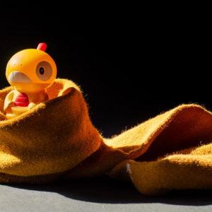 Pokemon baggiguane dans une chaussette
