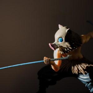 figurine manga anime demon slayer inosuke
